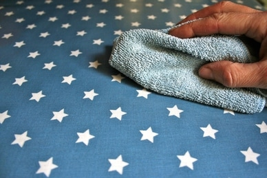 Removing Stains from Oilcloth -