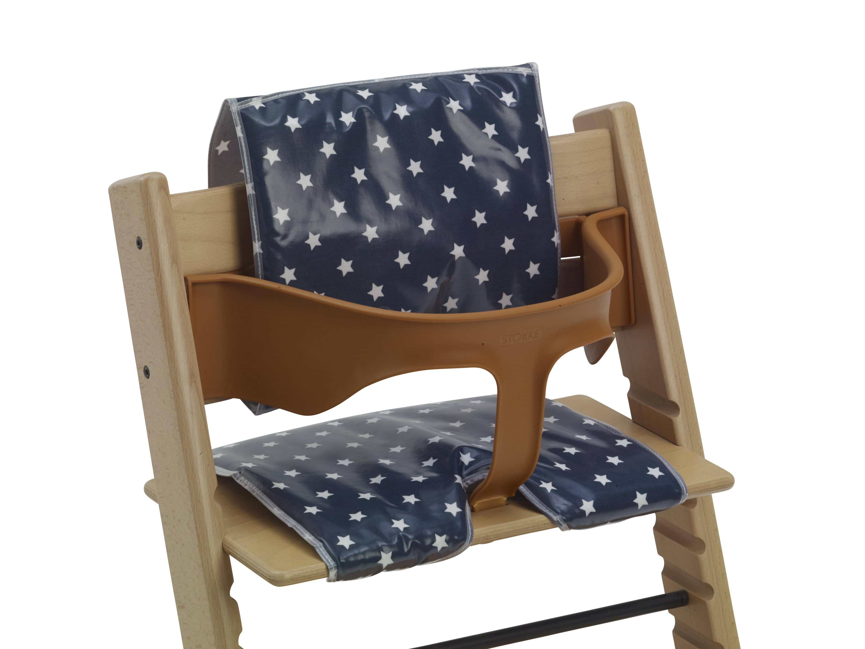 Cushions For Wooden High Chairs Navy Stars