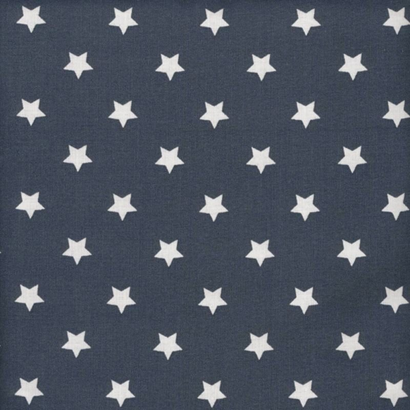 navy oilcloth swatch