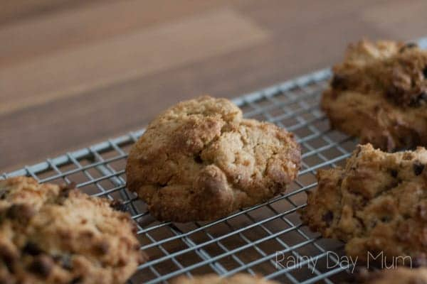 cooking with toddlers rock cakes