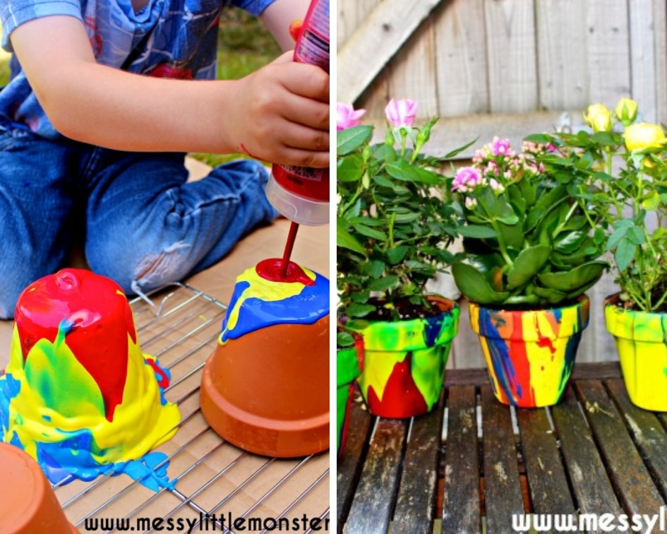 Mother's Day plant pot craft